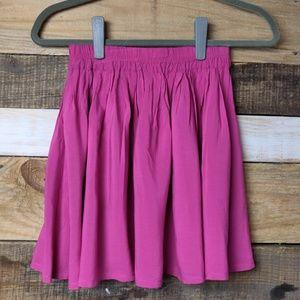 Bethany Mota Pink Mini Skater Skirt